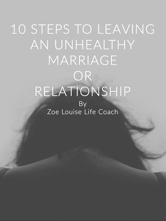 Booklet 10 Steps to leaving an unhealthy marriage or Relationship